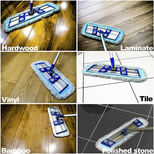 Temples Pride Professional Microfiber mop for hardwood Review