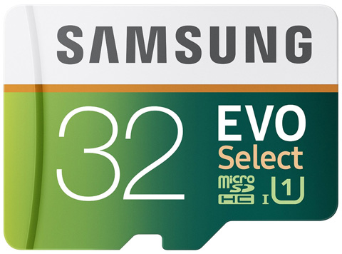 Samsung 32GB EVO Select Micro SDHC Memory Card Review