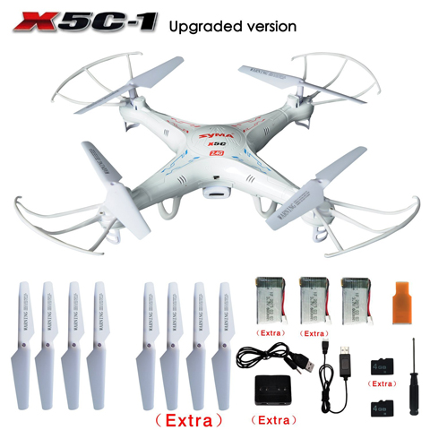 SYMA X5C-1 Gyro RC Quadcopter With HD Camera Review