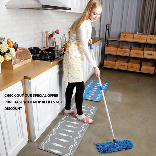 JINCLEAN Microfiber Floor Mop Review