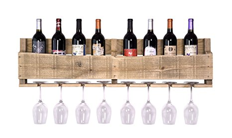 DAKODA LOVE Natural Wall Mounted Wine Rack Review