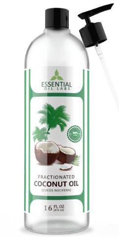 Essential Oil Labs Natural Therapeutic Grade Fractionated Coconut Carrier Oil Review