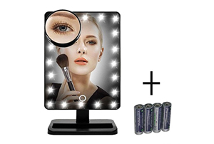 FLYMEI Touch Screen 20 LED Lighted Makeup Mirror Review