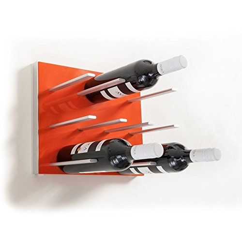 Vino Grotto – STACT ELECTRIC ORANGE Wall Wine Rack Review