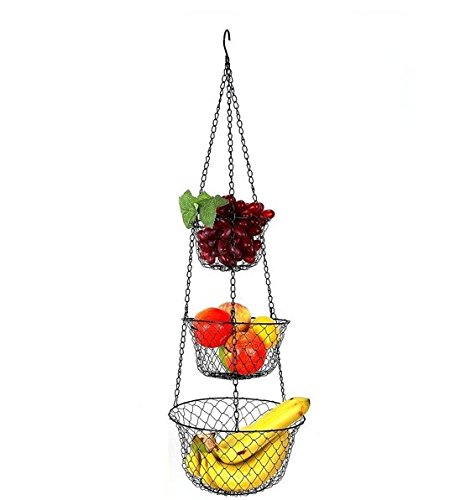 LIFANG 3 Tier Hanging Basket Review