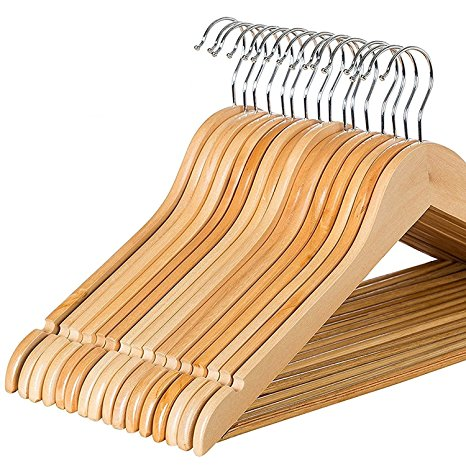 Zober Solid Wood Suit Hangers Review