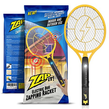 Zap-It! Bug Zapper Racket Review