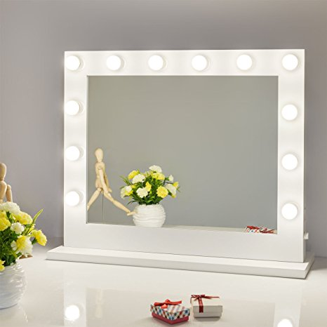 Chende Vanity Mirror with Light Hollywood Makeup Mirror Wall Review