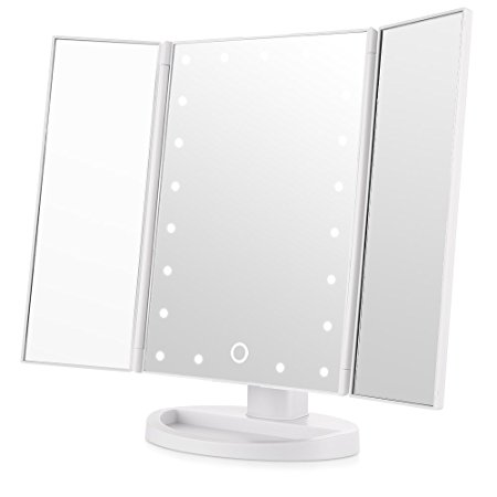 Easehold Tri-Fold Lighted Vanity Mirror Review
