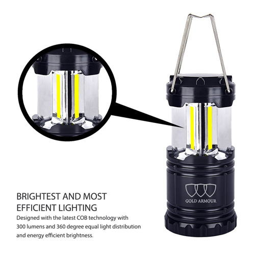 GOLD ARMOUR Brightest Camping Lantern Review