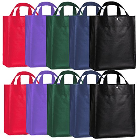 ORICSSON 10 Pack Recycled Polypropylene Reusable Grocery Shopping Bag Review