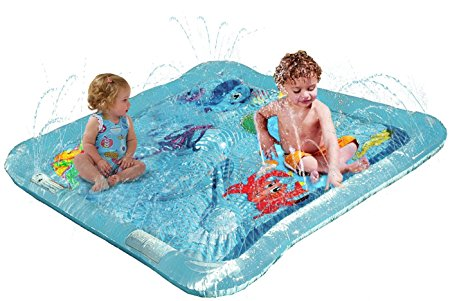 Kiddie Squirt Wading Pool Review