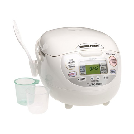 Zojirushi 1.0-Liter Premium White Rice Cooker and Warmer Review (NS-ZCC10)