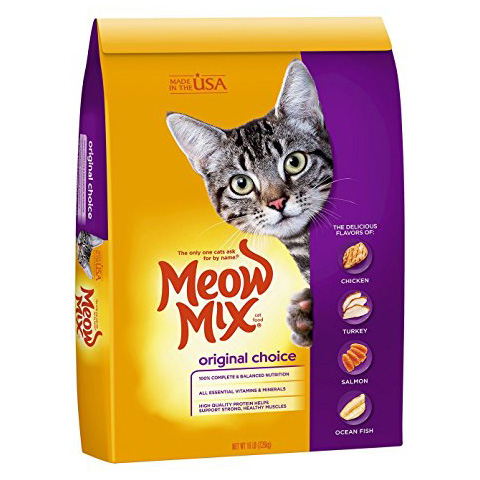 Meow Mix Dry Cat Food Review