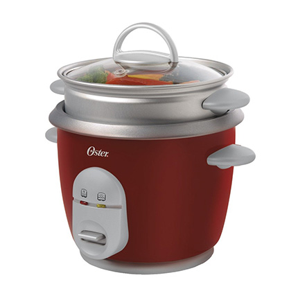Oster Red 4722 Rice Cooker with Steamer Review