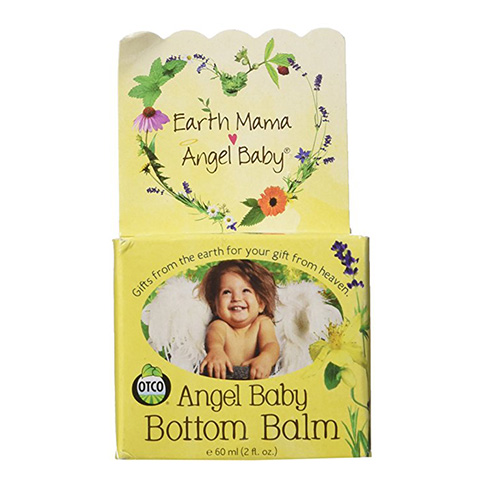 Earth Mama Angel Baby Bottom Balm Natural Cloth Diaper Cream Review