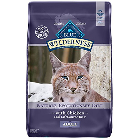 BLUE Wilderness Grain Free Adult Dry Cat Food Review