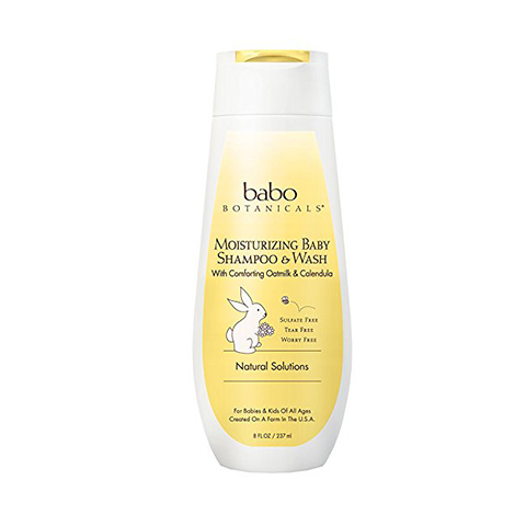 Babu Botanicals baby shampoo Review