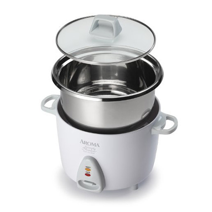Aroma Housewares 3-Cup (Uncooked) White Rice Cooker Review