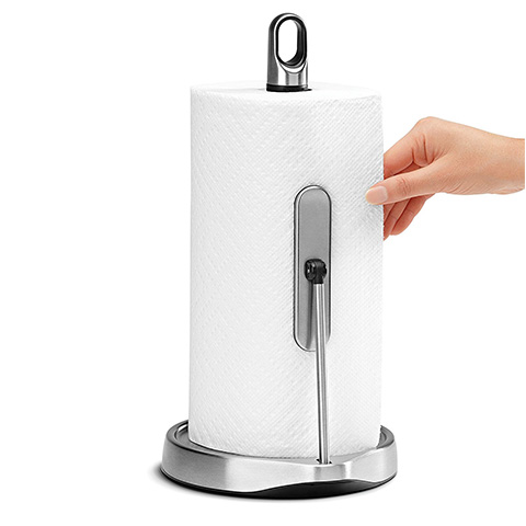 simplehuman Stainless Steel Paper Towel Holder Review