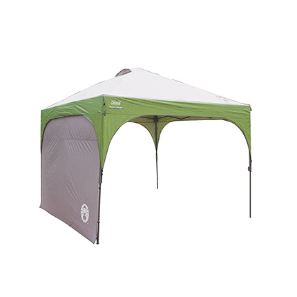 Coleman 10 x 10 Feet Instant Canopy Sunwall Review