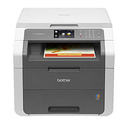 Brother HL-3180CDW Wireless Digital Color Printer Review