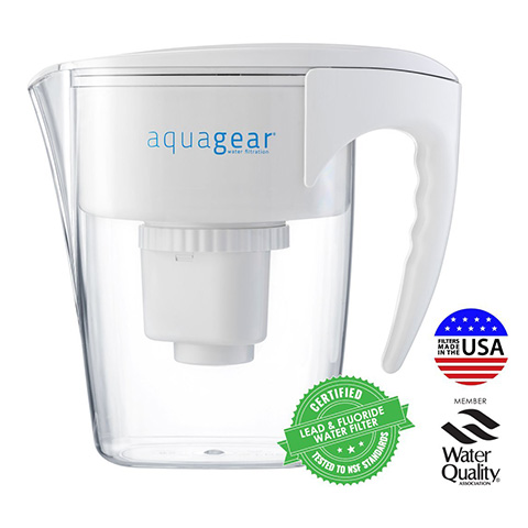 Aquagear Water Filter BPA free Pitcher Review