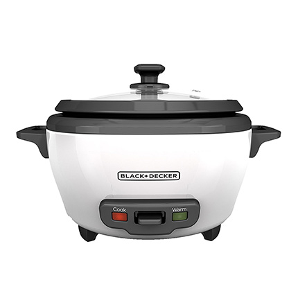 BLACK+DECKER White Rice Cooker and Food Steamer Review (RC506)