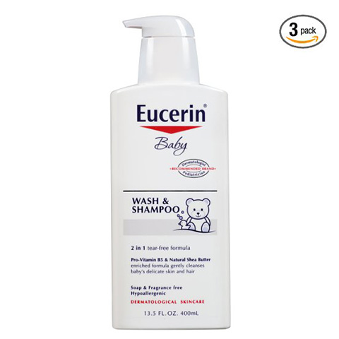 Eucerin baby shampoo Review