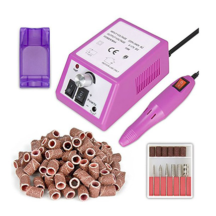 Subay Professional Pink Electric Nail Drill Machine Review
