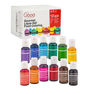 Good cooking 12 Color set Review