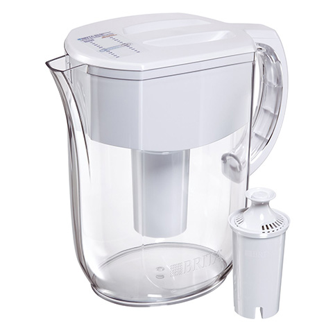 Brita 10 Cup Everyday Water Pitcher- white Review