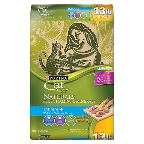 Purina Cat Chow Naturals Dry Cat Food Review