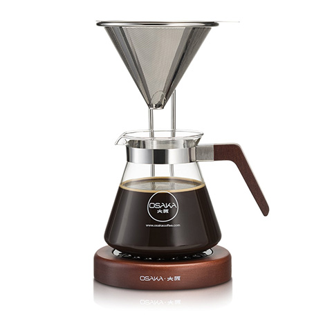 Osaka pour over wood stand coffee dripper review