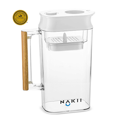 Nakii Long-Lasting Water Filter Pitcher with Patented ACF Military Technology Review