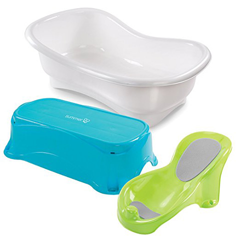 Summer Infant Comfort Height Bath Tub Review