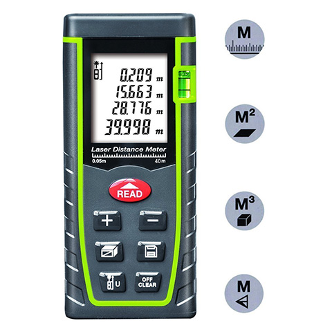 4. ieGeek 131ft Handheld Laser Distance Meter Review