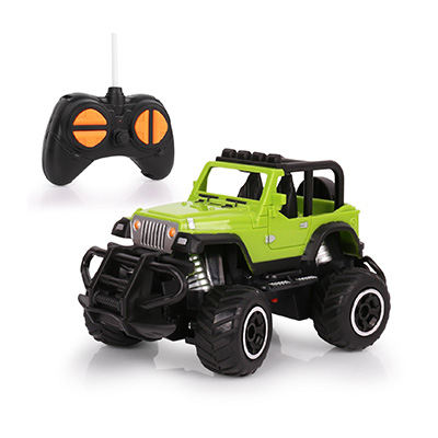HALOFUN Mini RC Jeep Vehicle Review