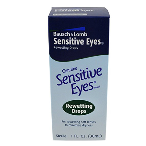 Bausch & Lomb Sensitive Eyes Rewetting Drops Review