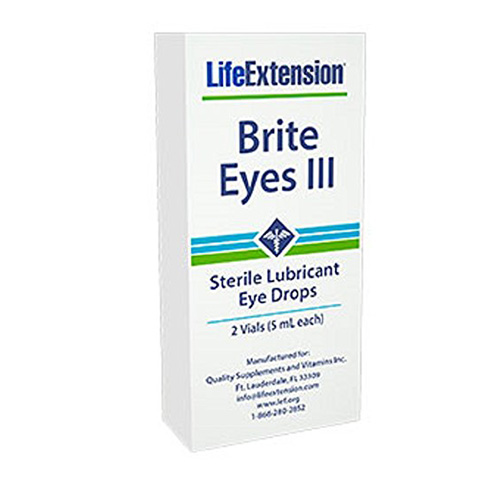 Life Extension Brite Eyes III Review