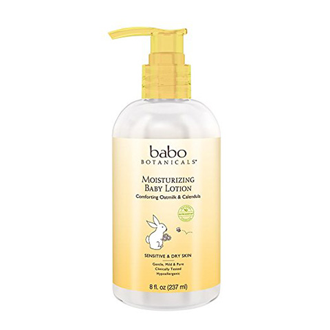 Babo Botanicals Oatmilk Calendula Moisturizing Baby Lotion Review