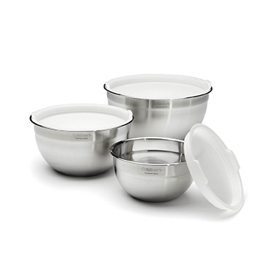 Cuisinart CTG-00-SMB 3 Pieces set Stainless Steel Mixing Bowl Set Review