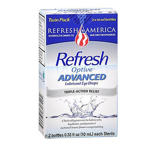 Refresh Optive ADVANCED Lubricant Eye Drops Review
