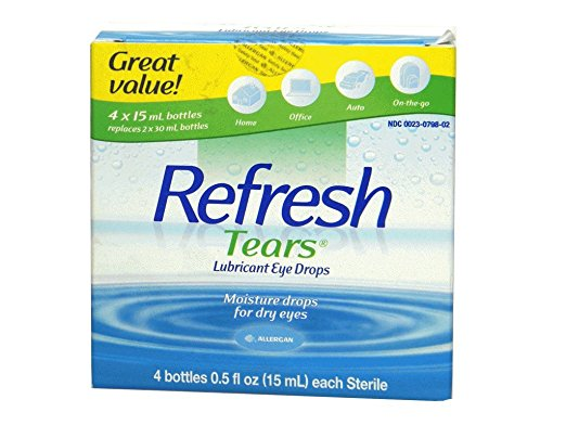 Refresh Tears Lubricant Eye Drops Review