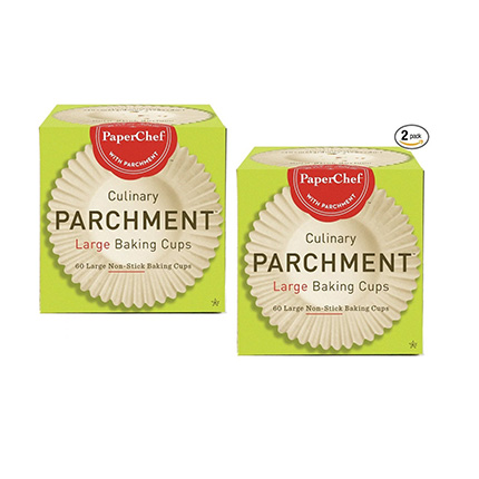 PaperChef 60-ct Cup Liners/Baking Cups Review (2 Pack)