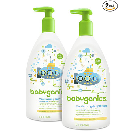 Babyganics Daily Baby Lotion Review