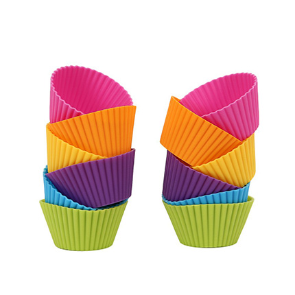 Mango Spot 12 Pack Baking Cups Review (6 Colors)
