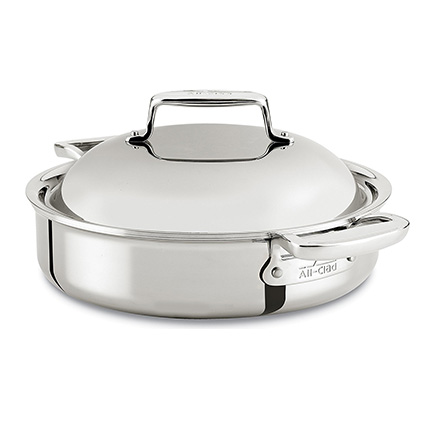 All-Clad 4-Quart Stainless Steel Dutch Oven Review