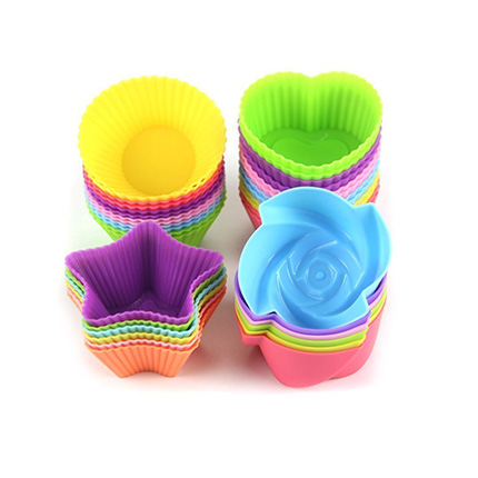 LetGoShop 24-Pcs Silicone Cupcake Baking Liners Review