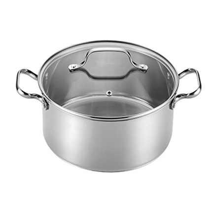 T-fal 5-Quart Stainless Steel Dutch Oven Review (E75846)